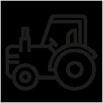 tracteur ferme cochon